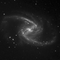 Animation of Barred Spiral Galaxy NGC 1365 Processing Stages thumbnail