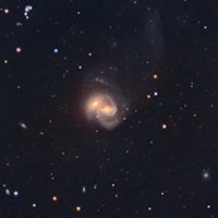 Arp 93 Colliding Galaxies NGC7284 and NGC7285 thumbnail