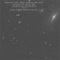 Asteroid 2001 TM120 Passing NGC 5078 thumbnail