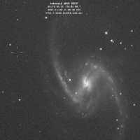 Asteroid 2015 TG237 Passing by Barred Spiral Galaxy NGC 1365 thumbnail