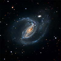 Barred Spiral Galaxy NGC 1097 thumbnail