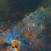 Carina Nebula Up Close thumbnail