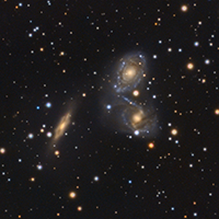 Colliding Galaxies NGC6769 NGC6770 NGC6771 thumbnail
