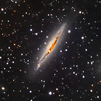 Edge On Spiral Galaxy NGC 3717 thumbnail