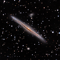 Edge On Spiral Galaxy NGC 5170 thumbnail
