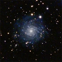 Faint Spiral Galaxy IC5332 thumbnail