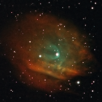 First Narrowband, Difficult Subject: Planetary Nebula Sh2-313 thumbnail