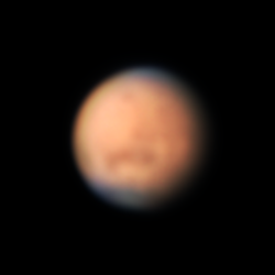 Hazy Mars at Opposition thumbnail