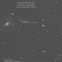 Hispania Passing NGC 5101. The Brightest Asteroid I've Ever Seen thumbnail