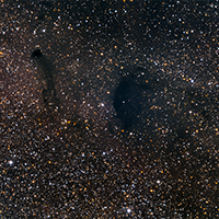 Molecular Clouds Barnard 92 and Barnard 93 thumbnail