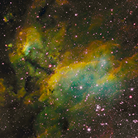Prawn Nebula in Emission Line Color thumbnail