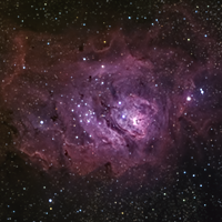 Revisiting the Lagoon Nebula with a new telescope. thumbnail