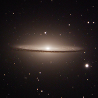 Sombrero Galaxy: A comparison between my first ever astronomical photo 10 months ago and now thumbnail