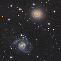 Spiral Galaxies NGC6935 and NGC6937 thumbnail