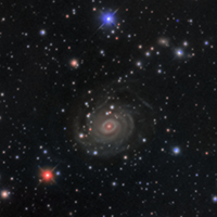 Spiral Galaxy NGC6902 and Friends thumbnail