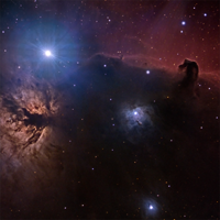 The Flame and Horsehead Nebulae thumbnail