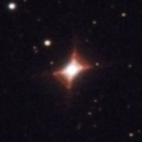 The Unusually Shaped Red Rectangle Nebula - HD44179 thumbnail